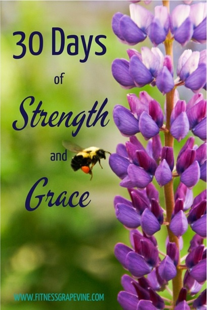 30 Day Strength and Grace Challenge #fitgrape