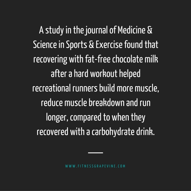 recover with milk