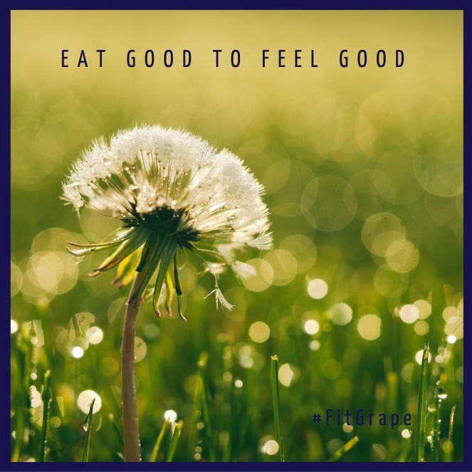 eat good to feel good