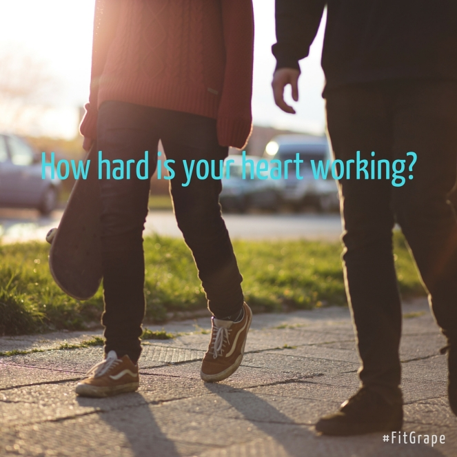 How hard is your heart working-