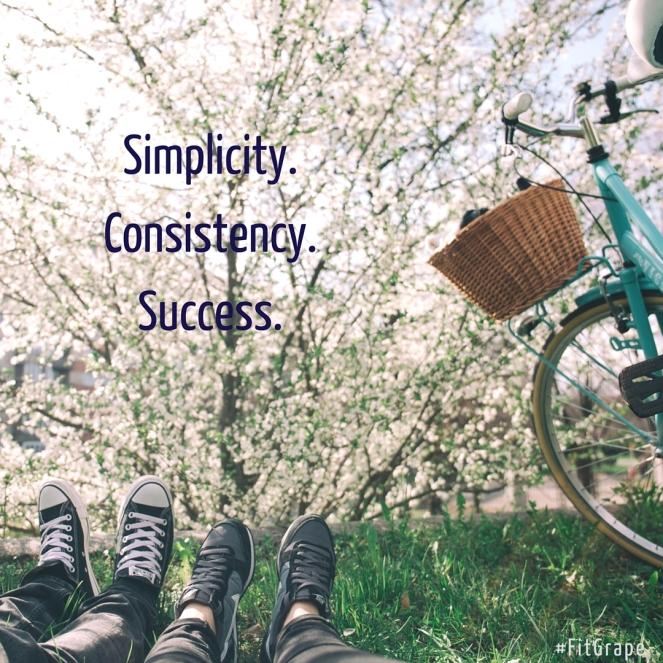 Simplicity. Consistency. Success.