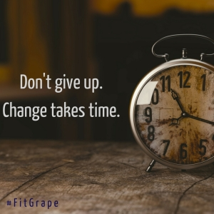 Don't give up.Change takes time.
