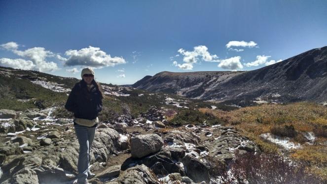 me-hiking-to-blue-lake